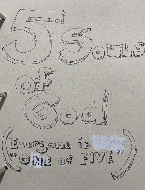 5 Souls of God bookcover